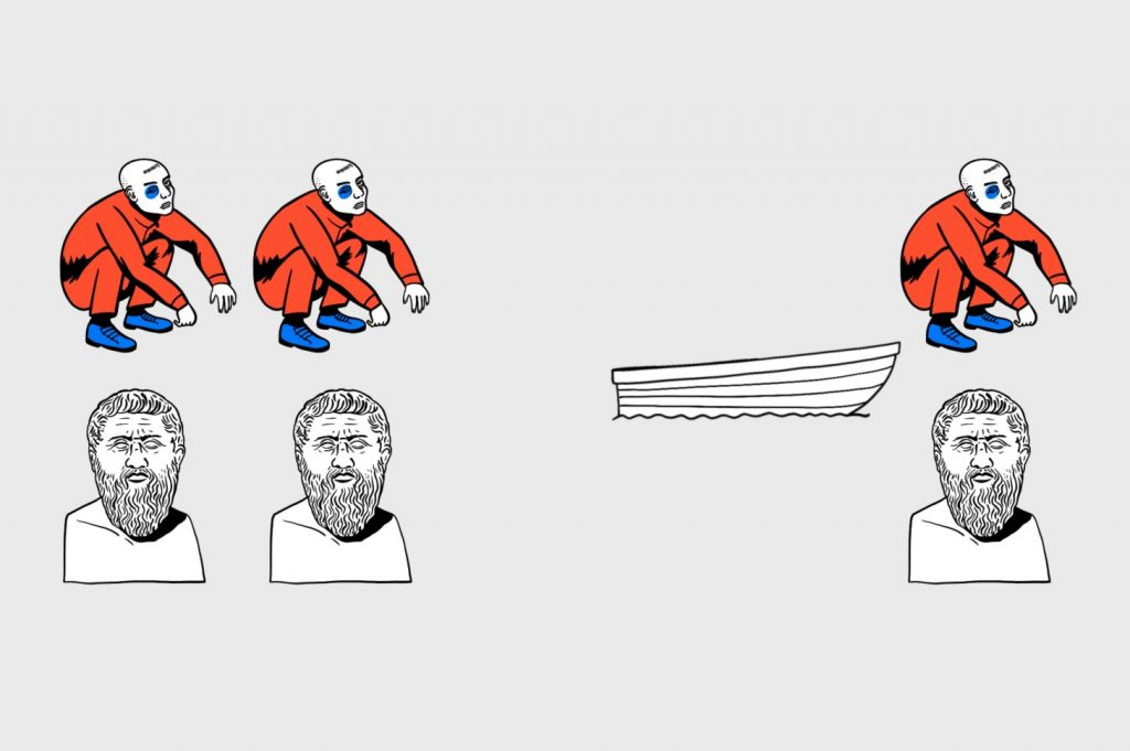 Алгоритмика в деле: как перевезти гопников и философов с одного берега на другой