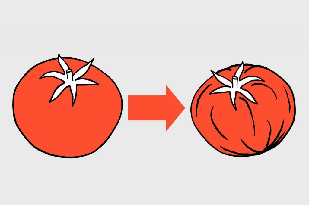 Задача с подвохом: Сложная задача про бабушку и домашние помидоры