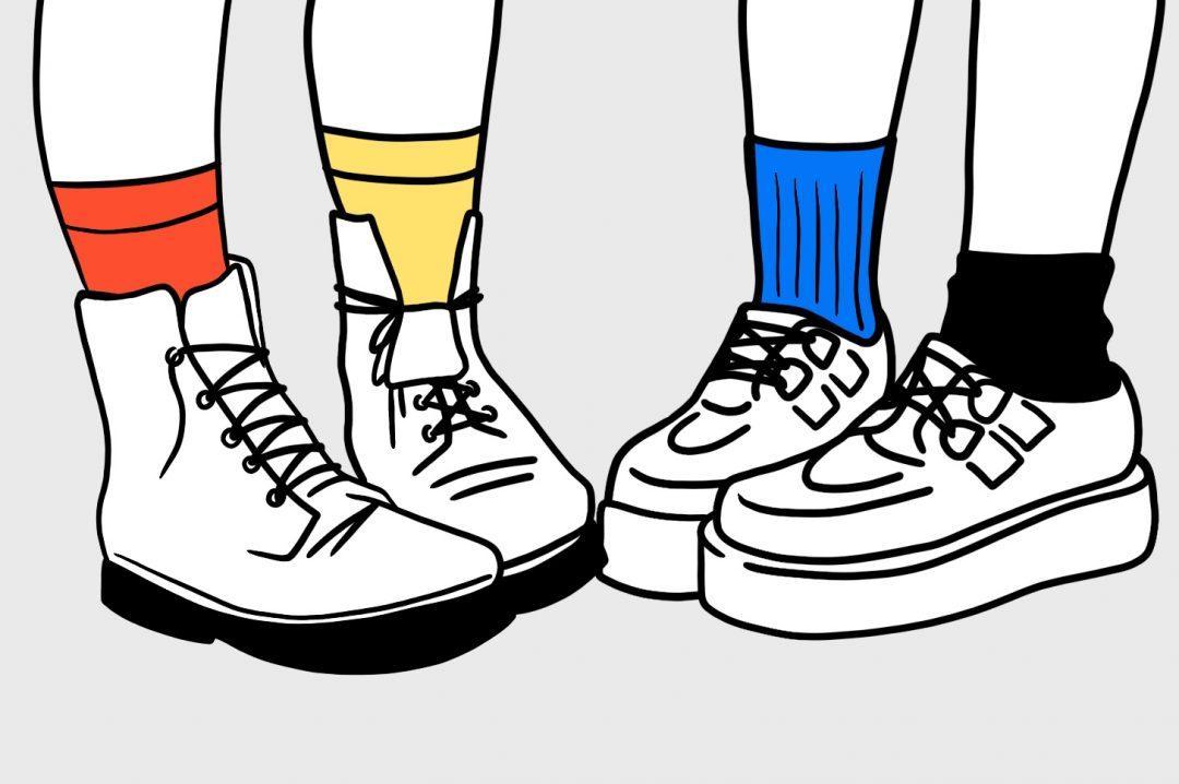 Как надевают носки настоящие программисты