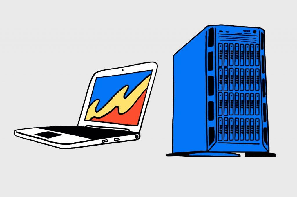 Как устроен интернет: Компьютеры винтернете грубо делят наклиенты исерверы