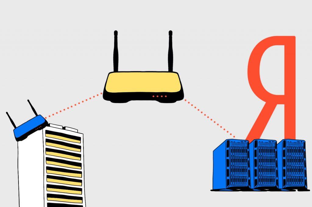 Как устроен интернет: От роутера к роутеру намагистральный канал