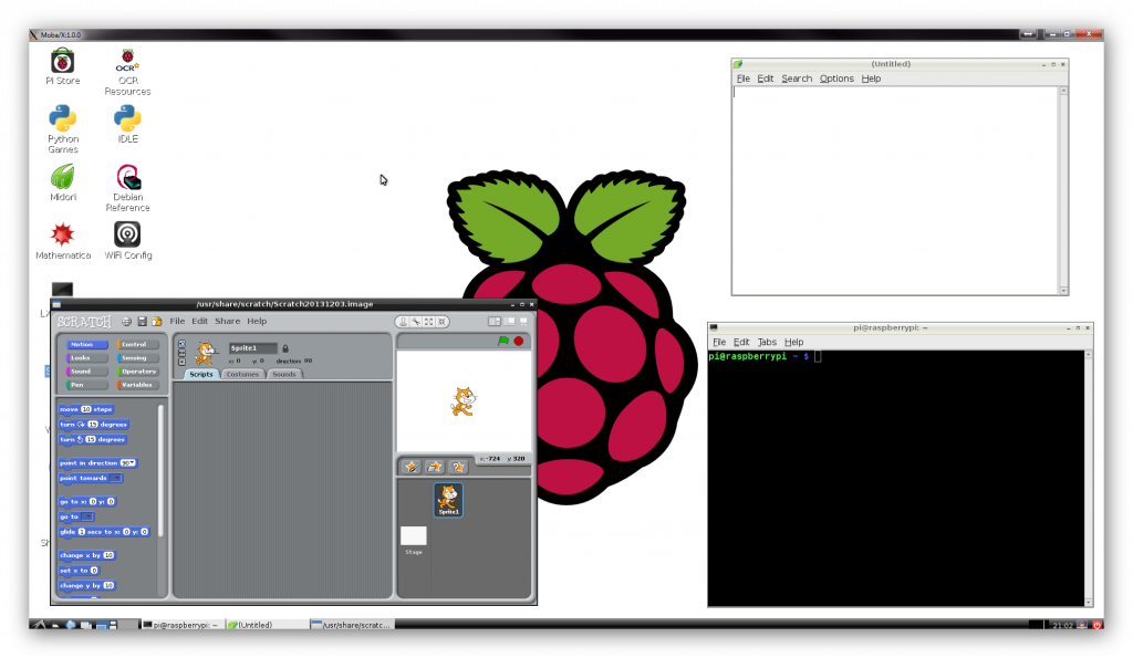 Raspberry Pi: Настоящий настольный компьютер