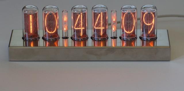 Raspberry Pi: Ламповые настольные часы на газоразрядных индикаторах