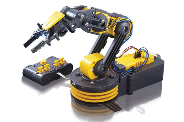 Raspberry Pi: Робот-манипулятор