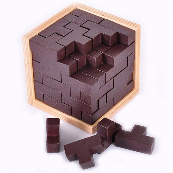 Деревянный куб
