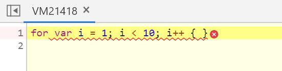 Строка с ошибкой Uncaught SyntaxError: Unexpected token