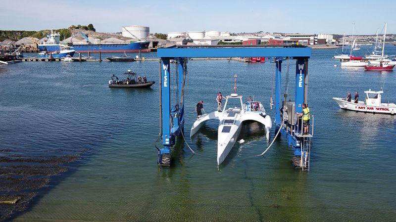 IBM спустил на воду свой беспилотный корабль