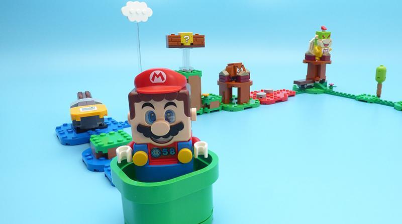 Сыграли в Super Mario на Mac OS на конструкторе LEGO Super Mario