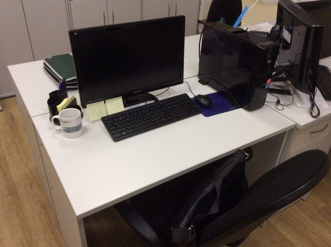 Работа веб-мастером: моё рабочее место в новой компании