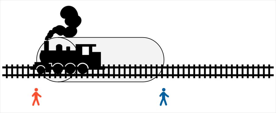 Момент, когда поезд выезжает из туннеля: сложная задача на логику