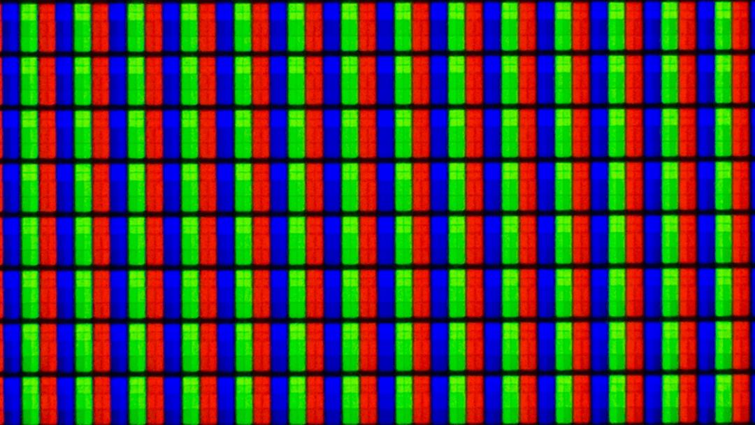 Субпиксели в матрице экрана компьютера или смартфона