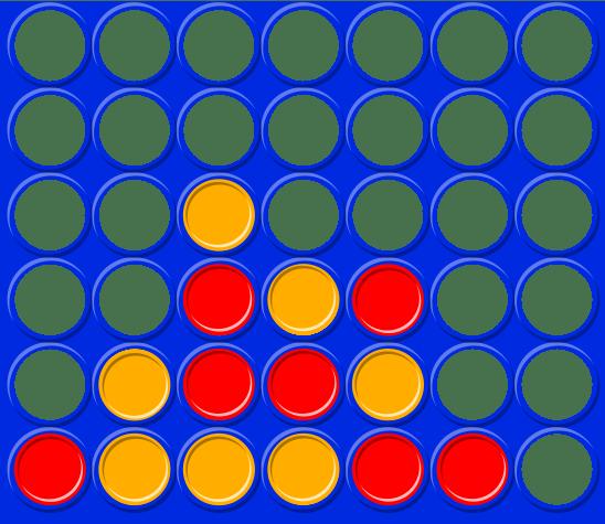 Разбор: непобедимый алгоритм для игры «4 в ряд»