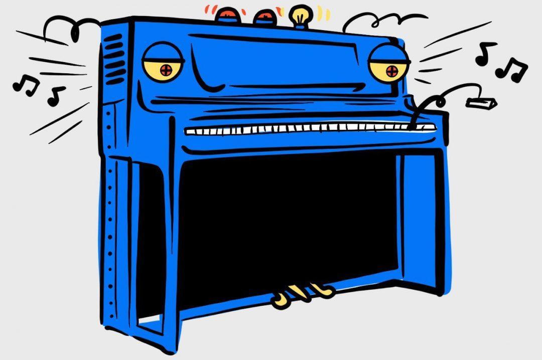 Пианино на JavaScript для Chrome