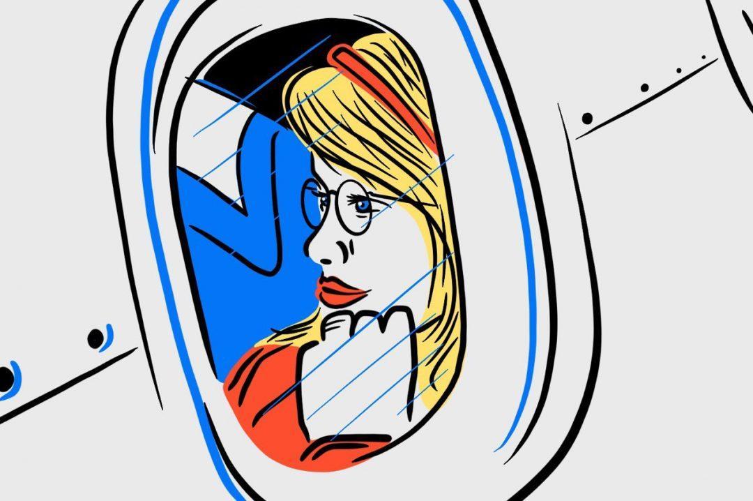 Задачка: тревелблогеры на самолёте