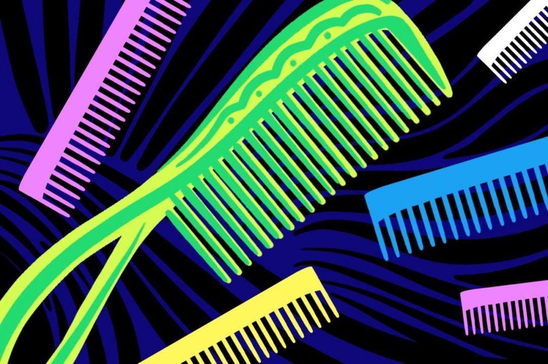 Как работает сортировка расчёской
