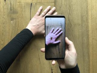 Сделали AR-приложение, которое помогает бороться с арахнофобией
