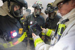Сделали очки со сканированием местности для пожарных